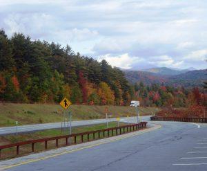 Les couleurs de l'automne sur la 87 USA