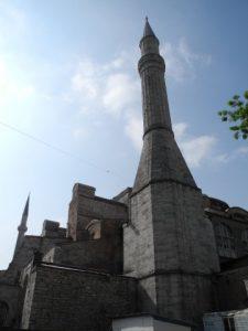 Minaret de la Hagia Sophia