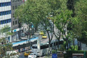 Traffique, tramway et autobus