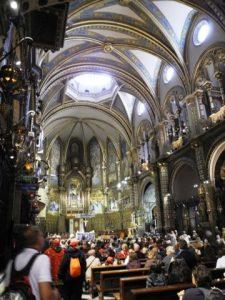 Intérieur de la chapel du Monastère