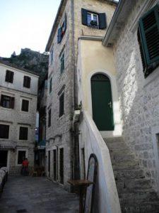 Des escalier de pierre