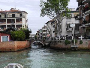 Venise au niveau de l'eau