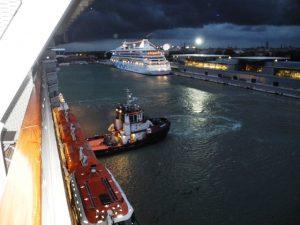 Les amares du bateau ont cédé durant la tempête