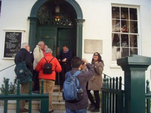 Porte d'entrée de la maison Haute-Ville (Victor Hugo)