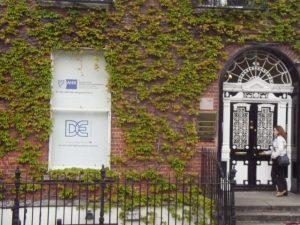 La porte la plus photographier a Dublin dans le quartier georgien