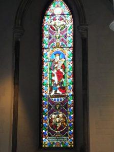 Vitrail a la cathédrale Saint-Patrick