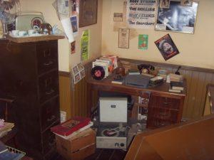 Musée Beatles Story - Reconstitution du Bureau de Mersey Beat