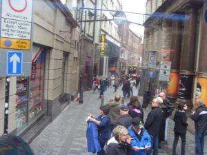 Matthew Street rue ou était situé le Cavern club