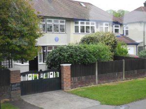 Maison ou a grandit John Lennon