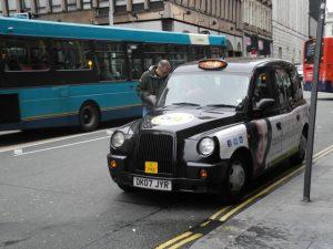 Taxi cab anglais