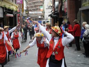 Danseuse sur Matthew street