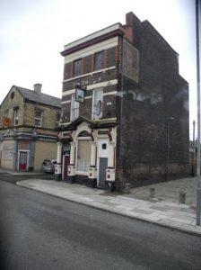 High Park and Admiral Street ce building se retrouve sur la pochette du premier album solo de Ringo Starr