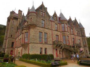 Chateau de Belfast sur la cave hill
