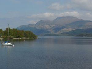 Loch Lomond - Village de Luss