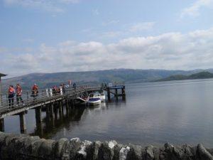 Loch Lomond - Quai du village de Luss