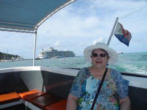 Micheline en Taxi Boat 2
