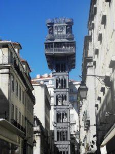 Ascenseur publique a Lisbonne
