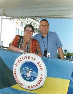 Micheline se réhabilite d'un cancer du sein - et Daniel a un sourire forcé
