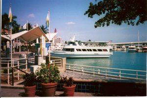Bayside Market Place - bateau Queen Island