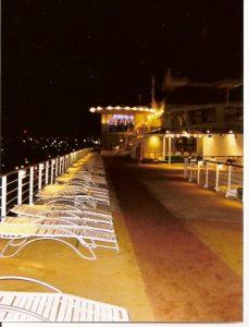 Pont 12 - le soir