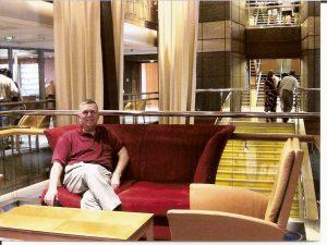Daniel dans le Grand Hall