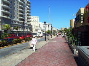 Les rues sur le port