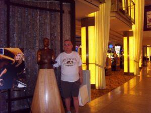 Daniel près du casino