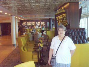Micheline au Café Al Bacio