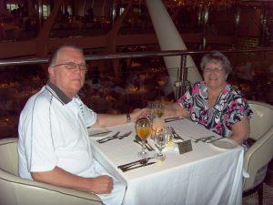 Daniel et Micheline table à deux - # 555