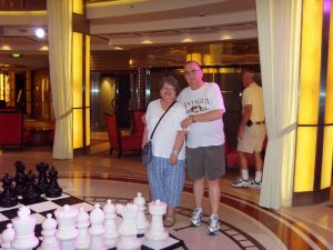 Gros jeu d'échecs