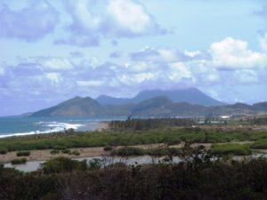 Train du tour de l'île - la campagne