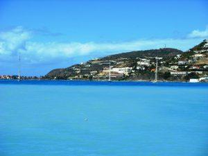 La baie turquoise