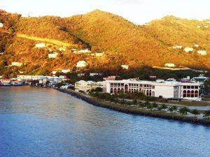 Le Solstice arrive à Tortola