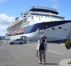 Daniel au port Ogden Point