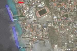 La position des bateaux via l'image satellite de http://www.marinetraffic.com
